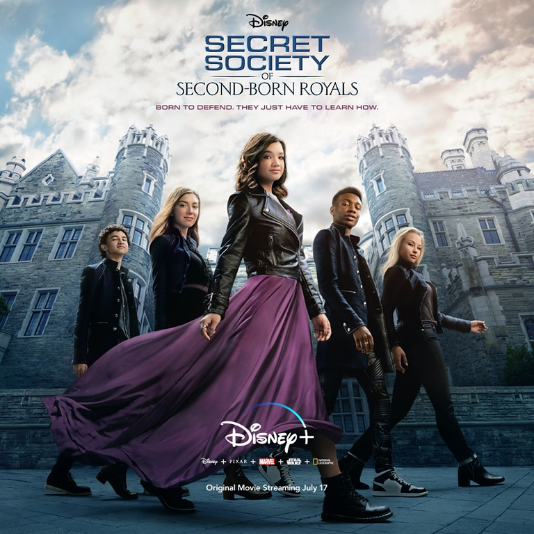 New trailer, stills for SECRET SOCIETY OF SECOND-BORN ROYALS which debuts July 17 on #DisneyPlus