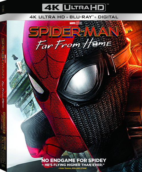 SPIDER-MAN: FAR FROM HOME ready for digital and physical home release
