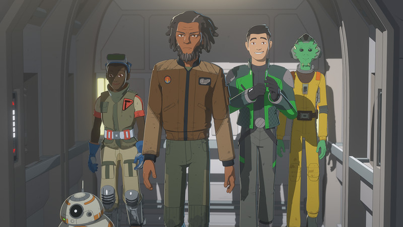 STAR WARS RESISTANCE returns Fall 2019 with second season approval