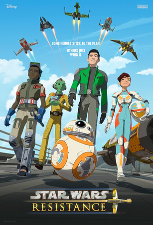 STAR WARS RESISTANCE invites you to meet the Aces and the Fireballs!