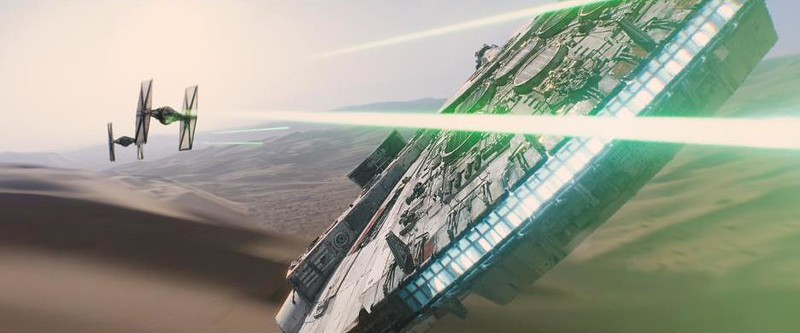 """NEW: Exclusive """"Dolby Vision 3D"""" experience of STAR WARS: THE FORCE AWAKENS at El Capitan"""