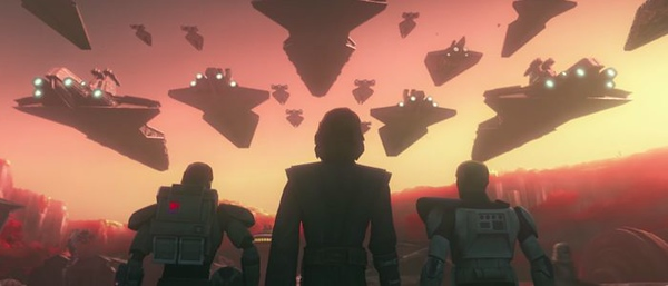 THE CLONES WARS will return… on Disney's new streaming service