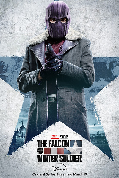 disney plus falcon and winter soldier character posters ZEMO