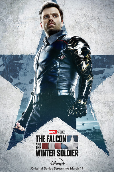disney plus falcon and winter soldier character posters WINTERSOLDIER