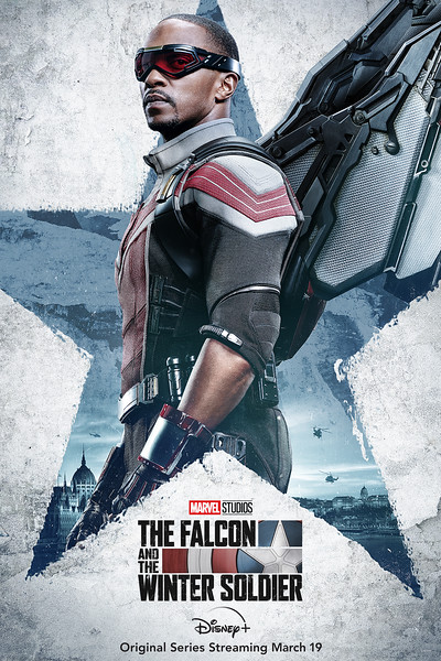 disney plus falcon and winter soldier character posters FALCON