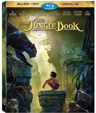 THE JUNGLE BOOK home release wanders out of the jungle with new bonus materials