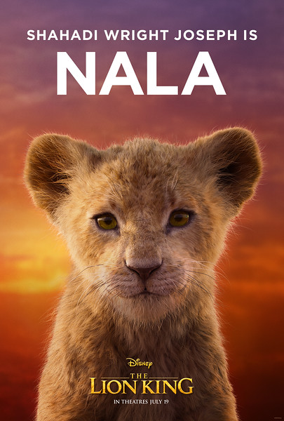 Character posters released for THE LION KING, new tv spot