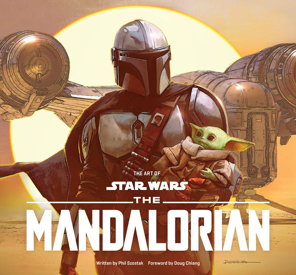 the art of star wars the-mandalorian-phil szostak-cover