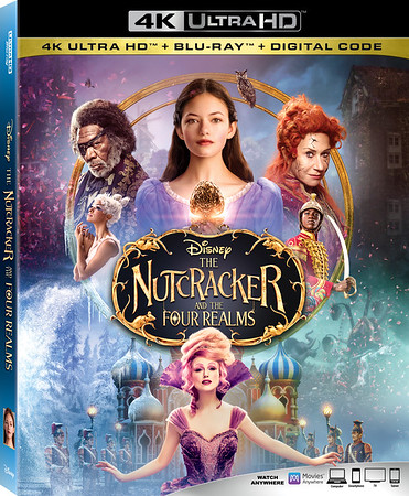 REVIEW: Eye-Candy at home! THE NUTCRACKER AND THE FOUR REALMS available now!