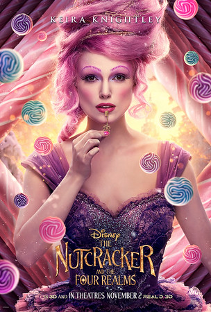 THE NUTCRACKER AND THE FOUR REALMS character posters unveiled