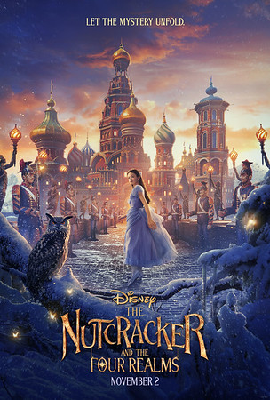 A winter wonderland comes to life in new poster for THE NUTCRACKER AND THE FOUR REALMS