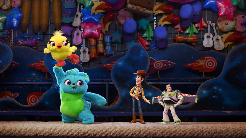 Keegan-Michael Key and Jordan Peele are Ducky and Bunny in TOY STORY 4