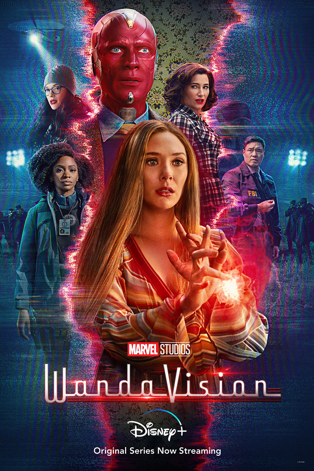 wandavision mid-season poster