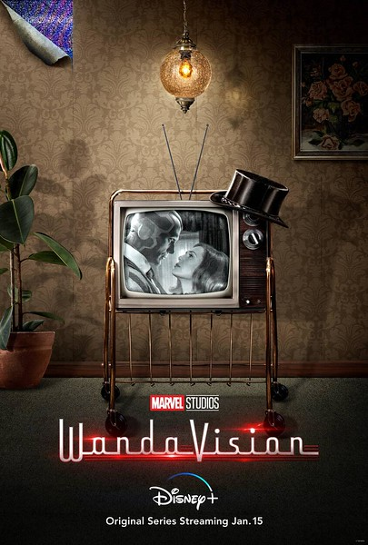 wandavision television screen posters (2)