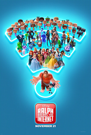 RALPH BREAKS THE INTERNET launches new looks; teaser, poster