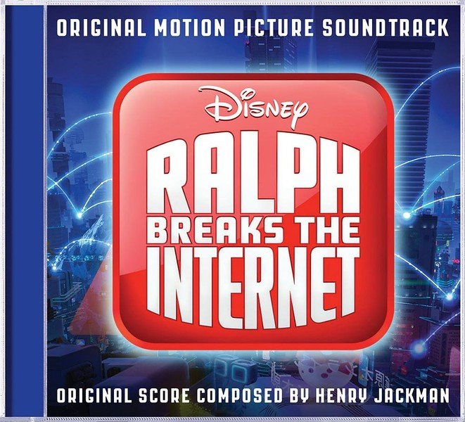 RALPH BREAKS THE INTERNET drops details on motion picture soundtrack