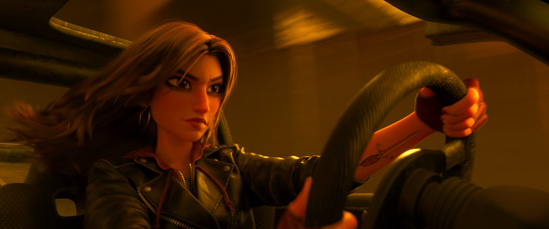 FIRST LOOK: Gal Gadot character 'Shank' in upcoming RALPH BREAKS THE INTERNET