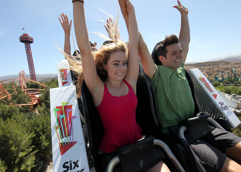 Six Flags Magic Mountain - Full Throttle Media Day<br /> <br /> Photo by Mathew Imaging