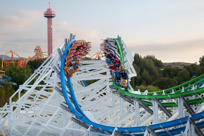 Six Flags Magic Mountain - Twisted Colossus Beauty Shots <br /> <br /> Photo by: Craig T. Mathew/Mathew Imaging