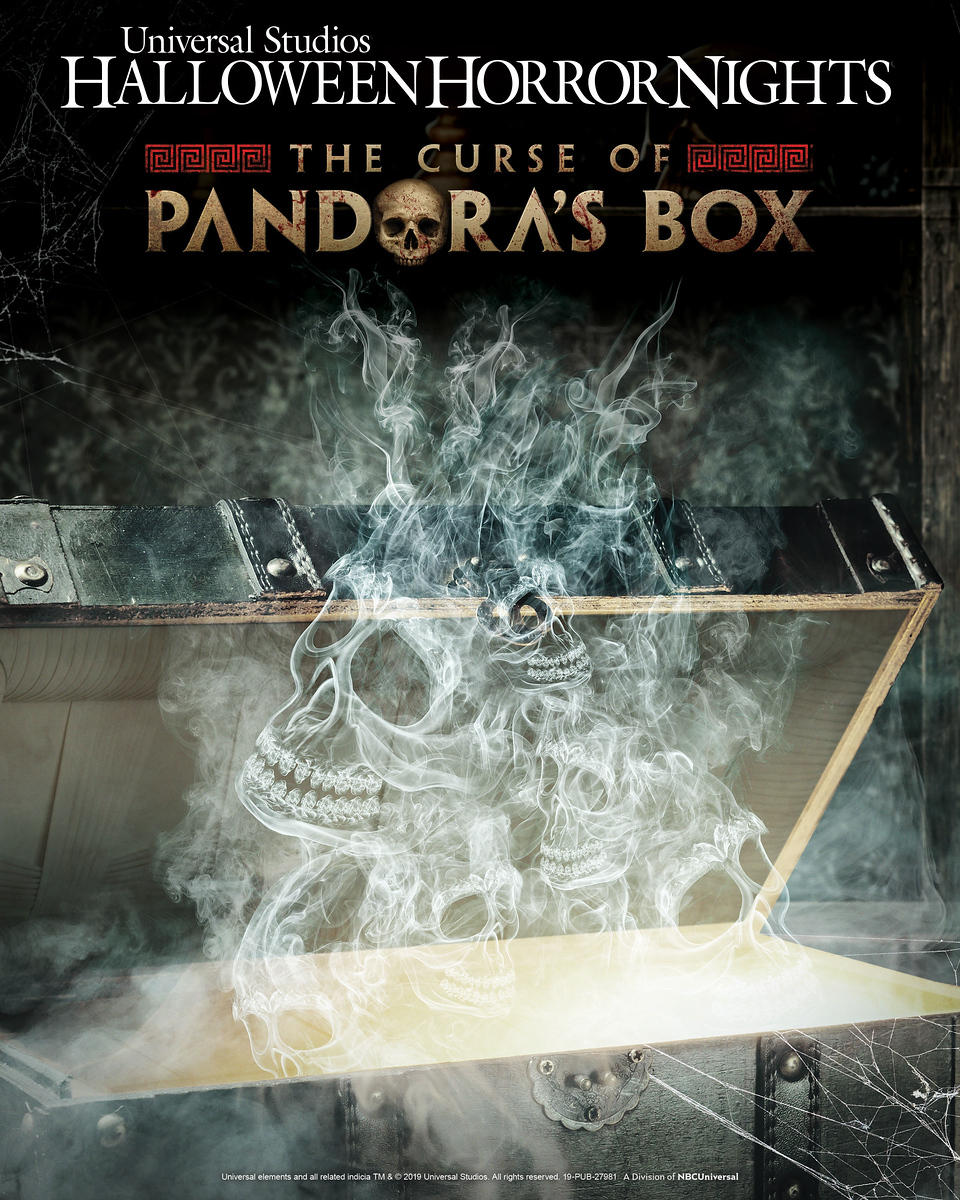Beware 'The Curse of Pandora's Box' at Universal Hollywood Halloween Horror Nights 2019