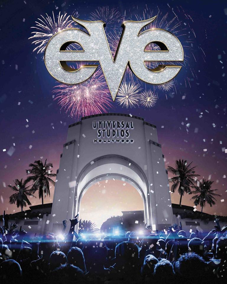 EVE 2019 at Universal Studios Hollywood key art (logo)
