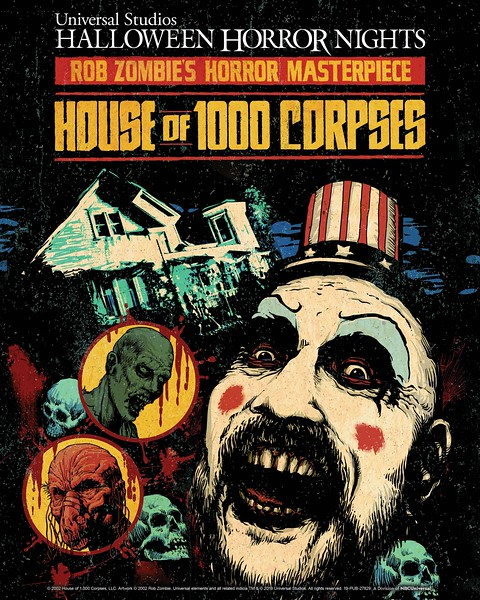 'House of 1000 Corpses' brings Rob Zombie's twisted tale to life at Universal Halloween Horror Nights 2019