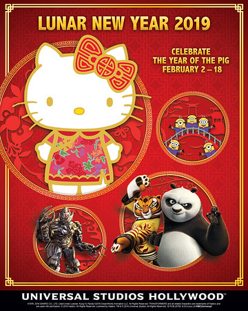 LUNAR NEW YEAR 2019 at Universal Studios Hollywood adds new entertainment offerings