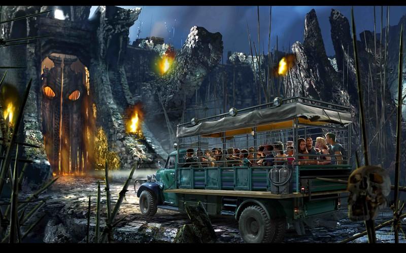Skull Island - Reign of Kong, concept art