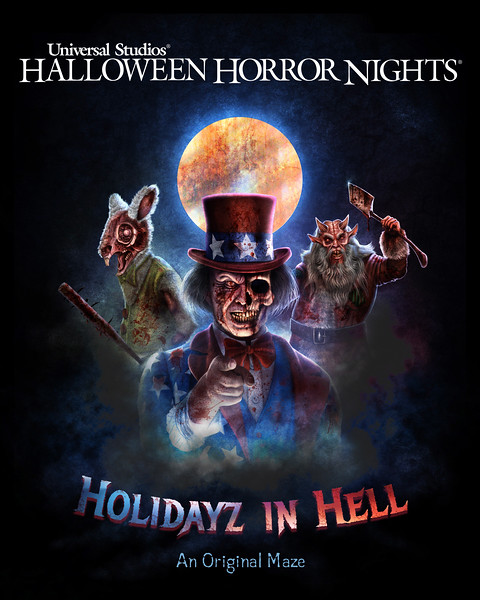 'Holidayz in Hell' brings deadly twist on familiar traditions at Hollywood HALLOWEEN HORROR NIGHTS