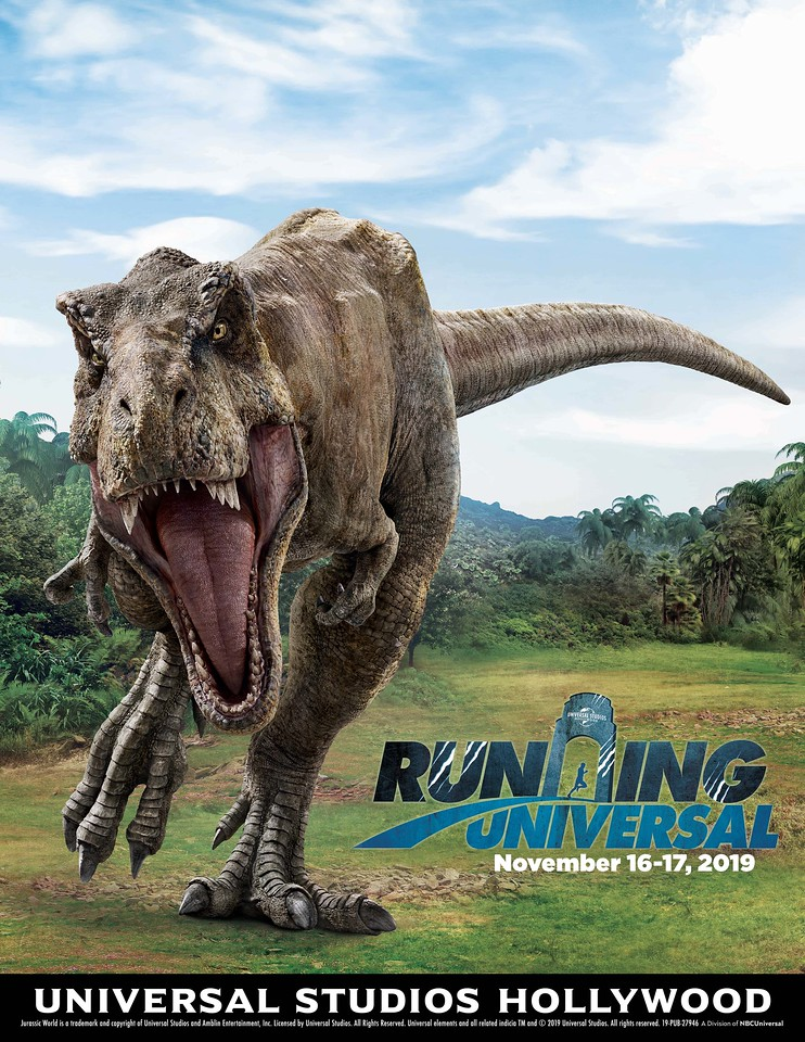 RUNNING UNIVERSAL confirms details for JURASSIC WORLD 5K Run!