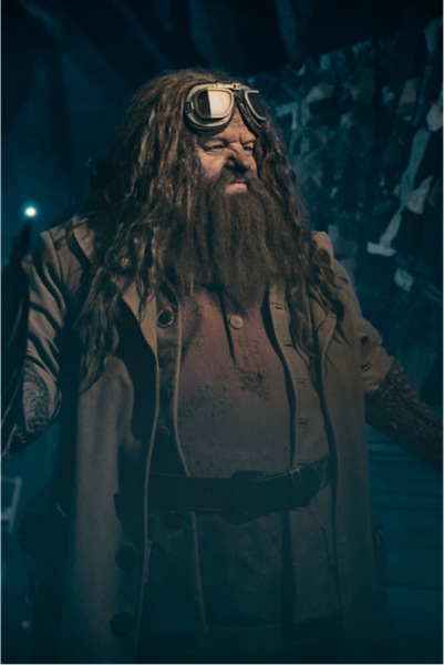 YOU'RE A ROBOT, HAGRID! First look at new figure for Universal 'Motorbike' attraction