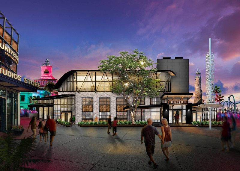 Universal Orlando Resort is bringing a BIGFIRE to Universal CityWalk