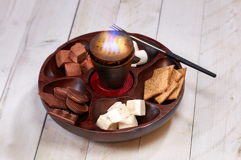 Tableside S'mores are just some of the highlights at fresh-fired BIGFIRE at Universal Orlando