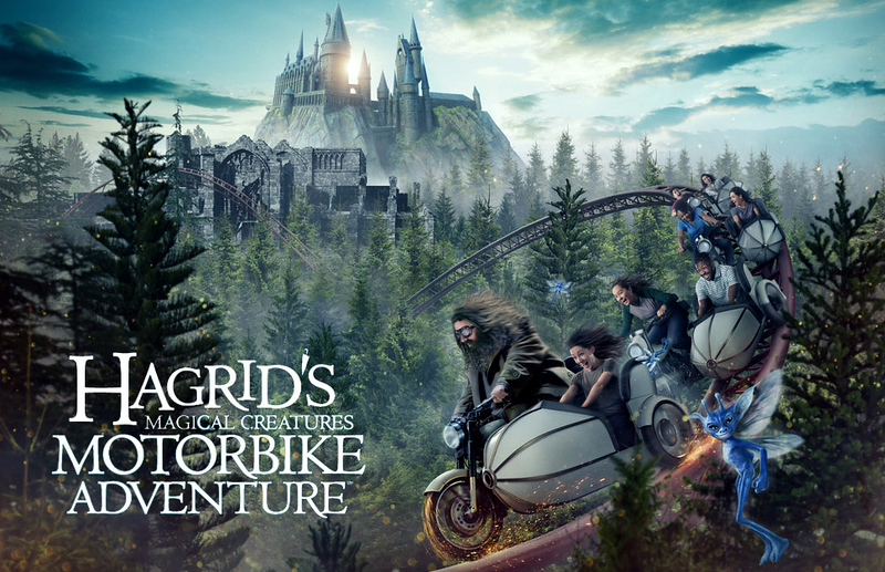 Universal Orlando confirms new 'Hagrid's Magical Creatures Motorbike Adventure' roller coaster!