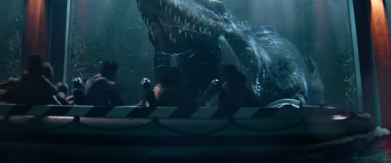 WATCH: JURASSIC WORLD—THE RIDE commercial teases first look at on-ride Mosasaur