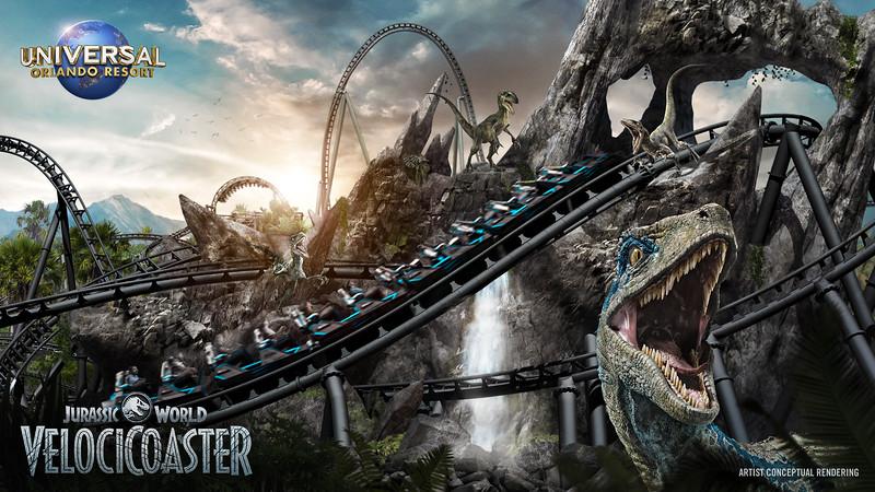 Universal Orlando Resort Reveals New Jurassic World VelociCoaster