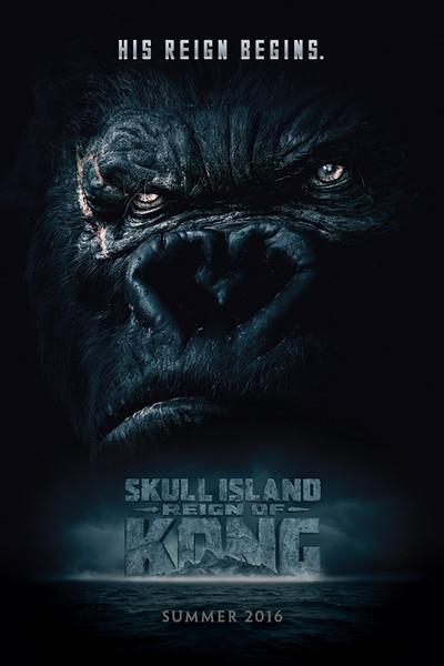 Skull Island - Reign of Kong, poster