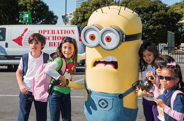 12th Annual Day of Giving event at Universal Studios Hollywood to benefit Operation School Bell
