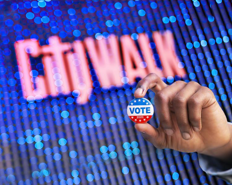 Vote Center at Universal CityWalk -10x8 FM
