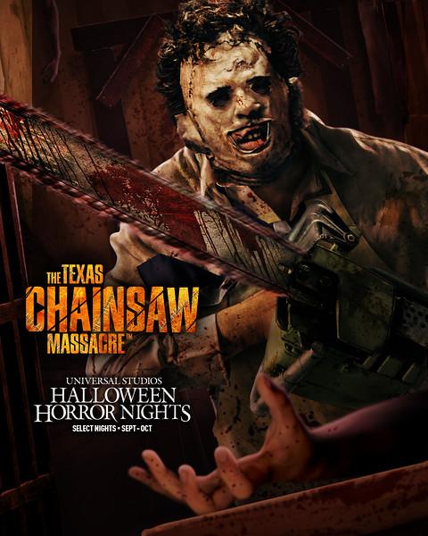 """The Texas Chainsaw Massacre"" at Halloween Horror NIghts 2021 at Universal Studios Hollywood and Universal Orlando Resort"