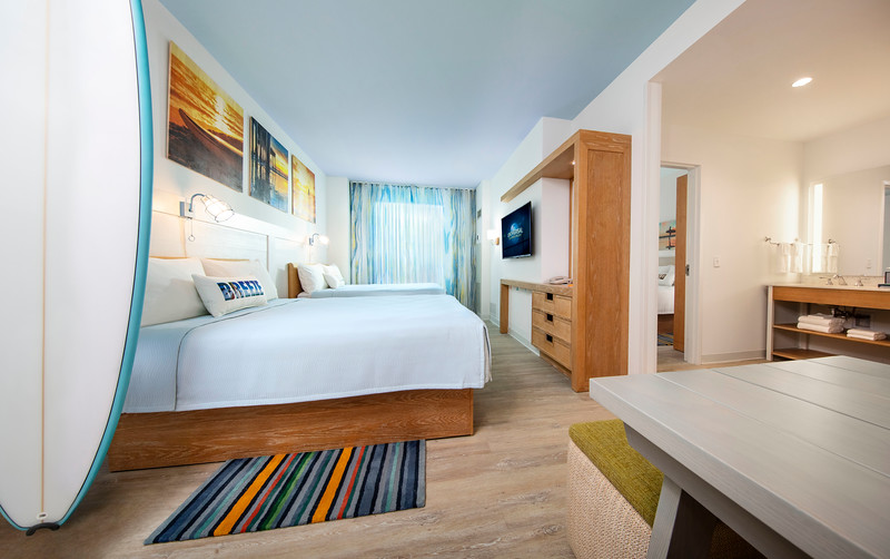 All room types available for booking at Universal's new value destination: ENDLESS SUMMER RESORT