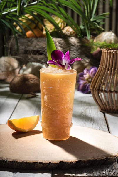 Painkiller drink from Isla Nu-Bar at Universal Studios Hollywood