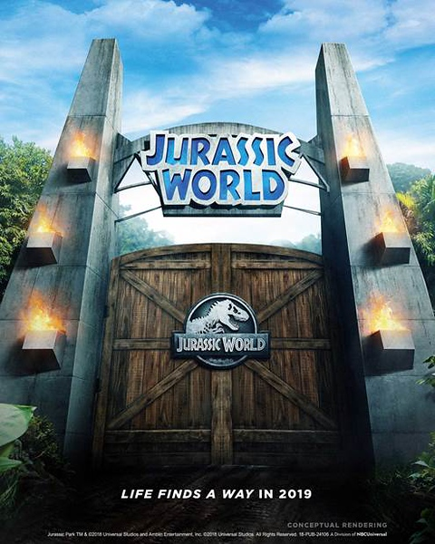JURASSIC WORLD RIDE coming to Universal Studios Hollywood, replacing JURASSIC PARK