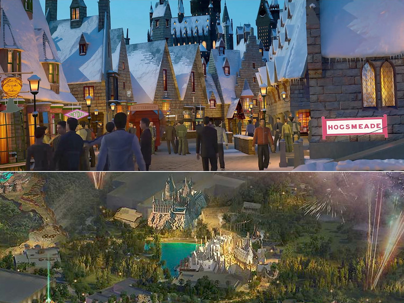 universal beijing resort - wizarding world of harry potter
