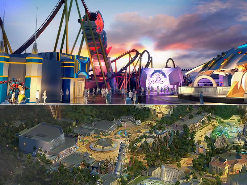 universal beijing resort - transformers metrobase