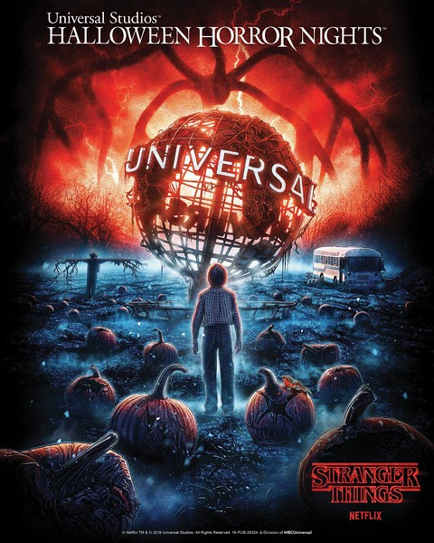 "Netflix's Original Series ""Stranger Things"" Returns to<br /> Universal Studios Hollywood and Universal Orlando Resort With All-New ""Halloween Horror Nights"" Mazes This Fall 2019"