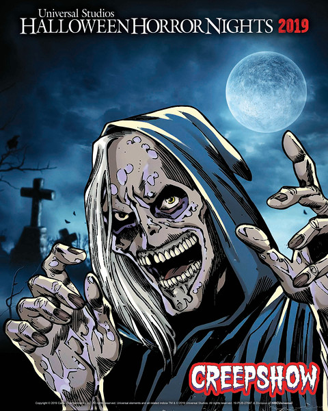 "Inspired by the 1982 Cult Classic Film and Shudder's Original 2019 Anthology Series, ""Creepshow"" Comes to Life at Universal Studios Hollywood as an All-New Terrifying ""Halloween Horror Nights"" Maze"