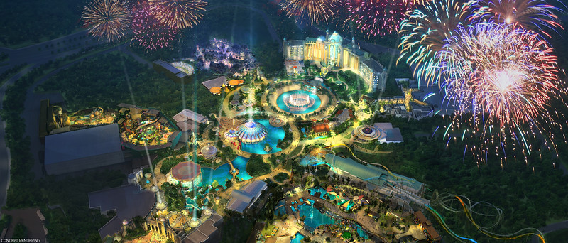 UNIVERSAL'S EPIC UNIVERSE is coming, new theme park and entertainment complex