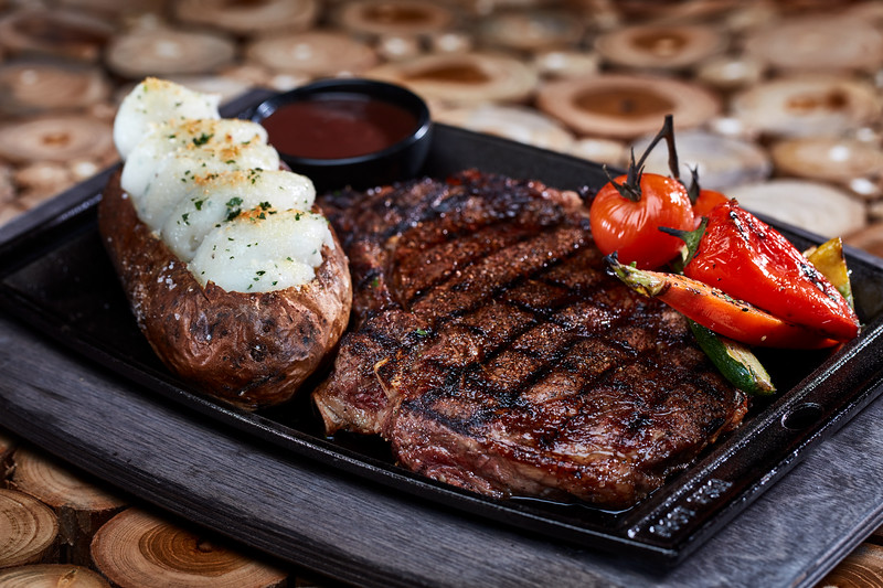 Publicity P161 Big Fire Food Shoot 032019 Big Fire 16oz Cowboy Ribeye Steak