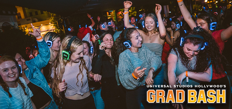 Universal Hollywood's 2019 GRAD BASH includes performances by Jason Derulo, Marshmello, Kaskade